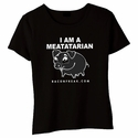 I Am A Meatatarian Babydoll Shirt