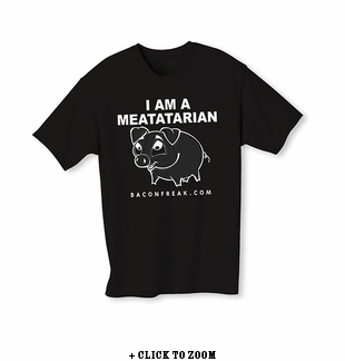 I Am A Meatatarian Kid's Youth T-Shirt