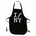 """I Bacon New York"" Apron - Black"