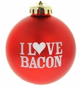 I Heart Bacon Ornament