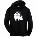 I Like Pig Butts Hooded Sweatshirt