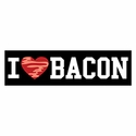 """I Love Bacon"" Bumper Magnet"