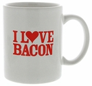 """I Love Bacon"" Mug"