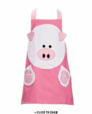 Kid's Piggy Face Apron