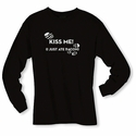 Kiss Me (I Just Ate Bacon) Long Sleeve Shirt