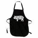 Lovin' The Lard Apron - Black