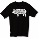 Lovin' The Lard Mens T-shirt - Black - Blue or Pink
