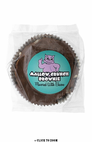 Mallow Crunch Brownie Flavored With Bacon