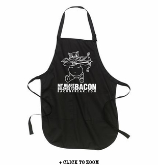 My Heart Belongs to Bacon Apron
