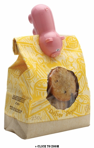 Oink Oink Mini Bag Clip