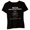P.E.T.A. - People Eat Tasty Animals Babydoll Shirt