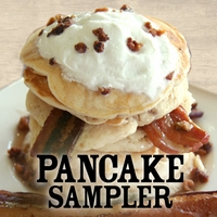 Pancake Sampler - 3 Different Pancakes
