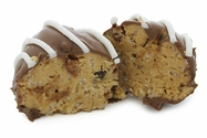 Peanut Butter Rice Crispy Balls Flavored with Bacon - 8pc
