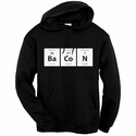 Periodic BaCoN Hooded Sweatshirt - Black