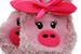 Pink Piggy Slippers - Click to Enlarge