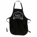 """Praise The Lard"" Apron - Black"