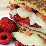Raspberry Bacon Grilled Cheese