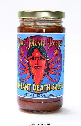 Red Hot Foods Jolokia aka Instant Death #2 Salsa - Bhut Jolokia Pepper