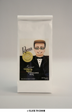 Rocco's Private Reserve Gourmet Ginger & Spice Pancake Mix