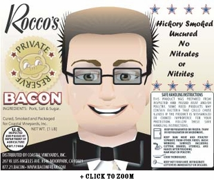 Rocco's Private Reserve No Nitrite Hickory Smoked Bacon