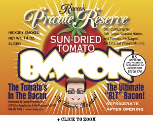 Rocco's Private Reserve Sun-Dried Tomato Bacon