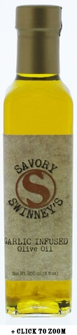 Savory Swinny's Garlic Flavored Olive Oil