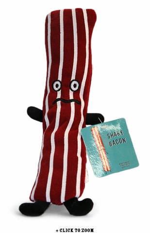Shaky Bacon Plush Toy