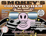 Smokey's Country Ham Center Steaks