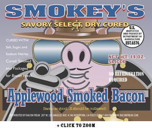 Smokey's Savory Select - Applewood Smoked Bacon