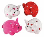 Sooo-weet Heart Plush Piggy