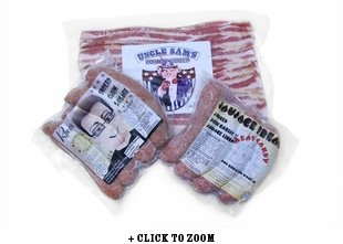 Summertime Sausages & Bacon Bundle