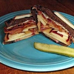 Swiss Apple Melt with Bacon Recipe