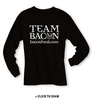 Team Bacon Long Sleeve Shirt