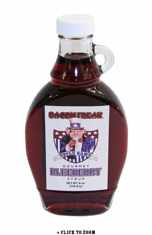 Uncle Sam's Gourmet Blueberry Syrup