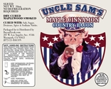 Uncle Sam's Maple Cinnamon Bacon