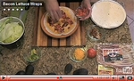 VIDEO: Bacon Lettuce Wraps - How To