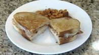VIDEO: Chicken-Bacon Swiss Cheese Sandwich Melt Recipe