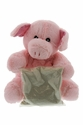 Warm Cuddles Microwavable Plush Pig
