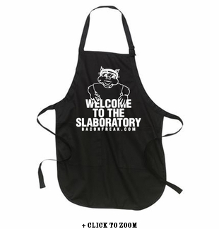 Welcome To The Slaboratory Apron