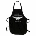 When Pigs Fly Apron - Black