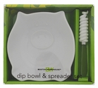 Zoology Pig Dip Bowl and Spreader Set