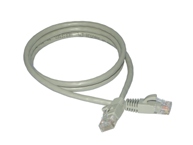10-Pack CAT6 Crossover Network Cables w/ Boot, RJ45 to RJ45, Gray