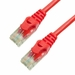 10Ft Cat6 Ferrari Boot Ethernet Cable - Red, 10-Pack