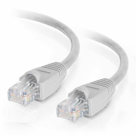 4Ft Cat6 Snagless Ethernet Cable - White, 10-Pack