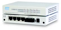 5-port switch with 4 x 10/100 & 1 x 100FX, Multimode, MT-RJ