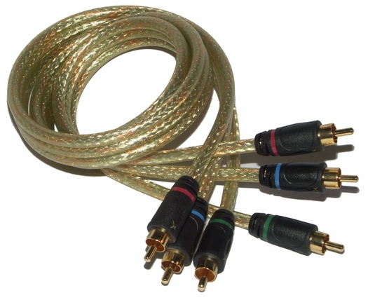 50ft GoldX Hi-Def Component Video Cable