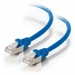 5Ft Cat6A Universal Boot Shielded (STP) Ethernet Cable - Blue, 10 Pack