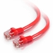 Snagless, Crossover Cat5e Patch Cables - Red