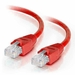 Cat6 Crossover, Snagless Patch Cables - Red