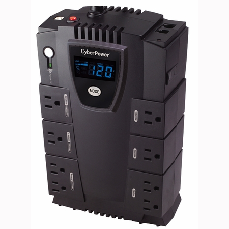 CyberPower CP825LCD UPS System Intelligent LCD Series